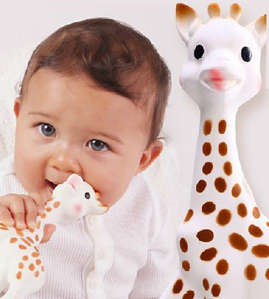 Sophie la girafe moisissures